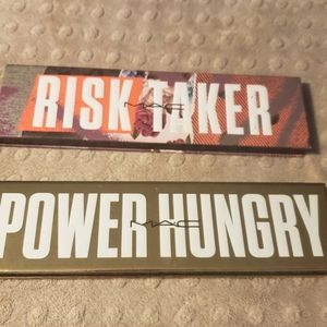 MAC Risk Taker and Power Hungry palette